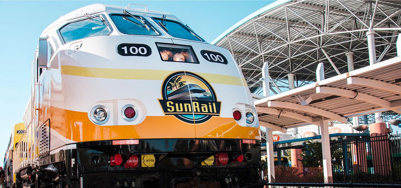 SunRail at Lynx Station